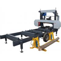 Buy cheap Forest Portable sawmill horizontal bandsaw /wood cutting mobile band saw machine from wholesalers