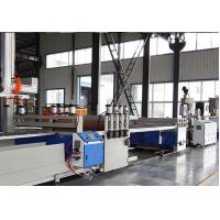 Buy cheap Full Automatic PVC WPC Board Production Line For Wood Plastic WPC Building Template product