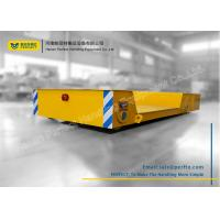 Buy cheap Cross Bay Material Transfer Cart , Motorized Floor Slab Material Handling Trolley from wholesalers