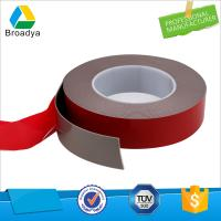 Buy cheap 1mm waterproof double sided adhesive black foam color VHB tape company from wholesalers