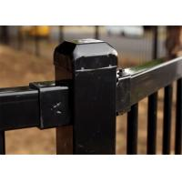 Buy cheap Customized Powder Coating Steel Fence and Steel Gate Designs from wholesalers