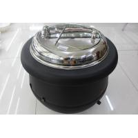 Buy cheap Black Color Electric Soup Warmer / Stainless Steel Cover Single Phase 220V Volt from wholesalers