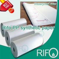 Buy cheap 2 Side Matt Coating PP Synthetic Paper for Offset Printing with MSDS Report (RPH-150-500) from wholesalers