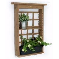 Buy cheap Contemporary Decorative Outdoor Furniture Plant Wall Shelf Modern Shelving Unit from wholesalers