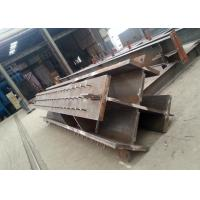 Buy cheap Welded Cross-section Steel Crossing Column Structural Steel Fabricators from wholesalers