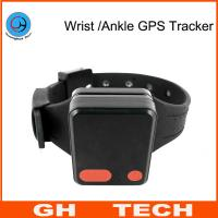 Buy cheap Wrist / Ankle Mini GPS Tracker Wristband Cut-Off Alarm For Alzheimer Prisoner Parolee Tracking from wholesalers