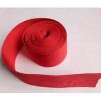 Buy cheap Plastic Pipe Woven Polyester Nylon Webbing , Hollow Polyester Webbing Protective Sleeving from wholesalers