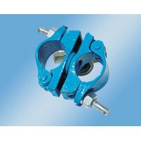 Buy cheap Cuplock Scaffolding System Galvanized  Swivel Coupler 3.0mm Thickness British Type from wholesalers