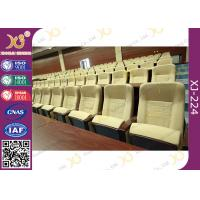 Buy cheap Paint Type Tip Up Flexible Mechanism Commercial Theater Seating For Acoustic Room / Auditorium from wholesalers