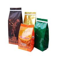 Buy cheap Bottom Gusset Matt Mylar Snack Bag Packaging Aluminum Foil Coffee Bags With Valve from wholesalers