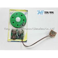 Buy cheap 30 Seconds Toy Sound Module Birthday Greeting Card 40mm Diameter With A Button from wholesalers