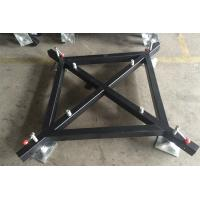 Steel material lighting truss accessories black truss for Cheap trusses for sale