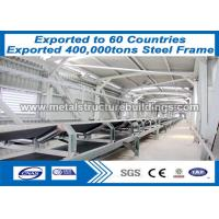 Buy cheap Lightweight SA 2.5 Sand Blasting Frame Structure Building With ASTM from wholesalers