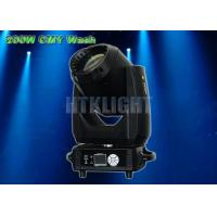 Buy cheap Light Weight CMY LED Based Moving Heads Lights 200W 15 - 45 Degree Zoom Angle from wholesalers