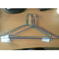 Buy cheap Galvanized Strong Wire Shirt Hangers / Steel Wire Hangers Suit And Notches Style from wholesalers