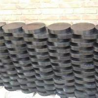 Buy cheap high quality competitive Plain and laminated elastomeric rubber bridge bearings 165mm diameter product