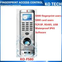 Buy cheap KO-FS80 Metal Case Fingerprint Reader Standalone Entry Access Control from wholesalers