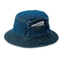 Buy cheap Custom Pocket Cool Jean Bucket Hat For Four Season Personal Style SGS Certification from wholesalers