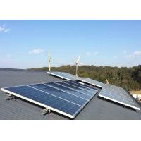 Buy cheap Safe Home Wind Turbine System , 5kw Wind Turbine Generator With Solar Controller Inverter Guyed Tower from wholesalers