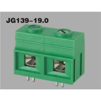 Buy cheap PCB terminal block,  pin header and cage brass or tin plated, housing PA66 UL94V-0 JG139-19 from wholesalers