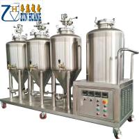 Buy cheap SUS304 100l 50gallon micro beer brewery equipment conical fermenter tank stainless steel beer brewing equipment from wholesalers