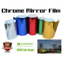 Buy cheap Chrome Mirror Car Wrapping Vinyl Film 3 layers - Chrome Rose Red from wholesalers
