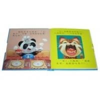 Buy cheap custom Full Color hardcover binding Kids / Childrens Book Printing with Inner draw from wholesalers