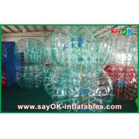 Buy cheap Clear / Red / Blue Inflatable Soccer Bubble Ball Giant Human Bubble Ball from wholesalers