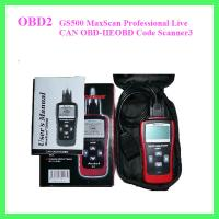 Buy cheap GS500 MaxScan Professional Live CAN OBD-IIEOBD Code Scanner3 from wholesalers