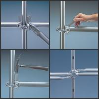 Buy cheap Paint, Galvanizing steel frame ring lock scaffolding construction system EN74B, AS1576 from wholesalers