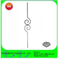 Buy cheap stair handrail casting metal iron balusters from wholesalers