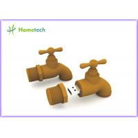 Buy cheap Brown Mini 1GB Cartoon USB Flash Drive Water Faucet Shape With Plastic from wholesalers