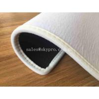 Buy cheap Washable Non woven Blank Printing with Velvet Side Whipstitch Natural Rubber Door Mats from wholesalers
