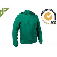 Buy cheap Outdoor Men Green Tactical Jacket UV Protection For Summer 100 % Cotton from wholesalers