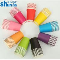Buy cheap PE Coated Juice / Coffee Paper Cup Fan Sheet Single / Double from wholesalers