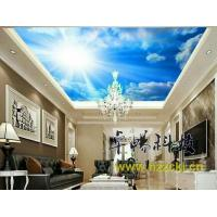 Buy cheap Wear Resistant Blue Sky Integrated Ceiling System Crystal Surface 400cm X 360cm from wholesalers