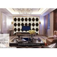 Buy cheap Art glass combined / Spell Mirror Glass Background walls from wholesalers