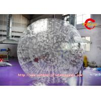 Buy cheap Interesting TPU Clear Inflatable Balls 1.5 meters For Commercial from wholesalers