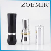 Buy cheap Made in Guangzhou Round shape plastic cosmetic lipstick lip balm tube packaging with jewel decotated from wholesalers