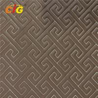 Buy cheap Waterproof Synthetic Leather Fabric Pvc Leather Fabric High Density Foam product