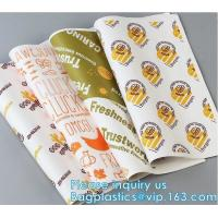 Buy cheap New Waterproof Craft Color Print Gift Wrap A4 Fast Food Sandwich Products Wrapping Kraft Paper, from wholesalers