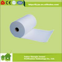 Buy cheap H13,H14 (99.999% ) Fiberglass HEPA Filter Paper Roll Air Filter Media from wholesalers