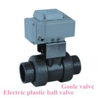 Buy cheap Electric drive Socket welded plastic ball valve from wholesalers