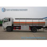 Buy cheap Dong Feng Gasoline / Light Diesel 13m3 Stainless Steel Fuel Tank Truck 4x2 from wholesalers