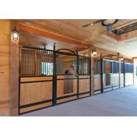 Hot dip galvanized horse stalls metal horse stalls with for 2 stall horse barn kits