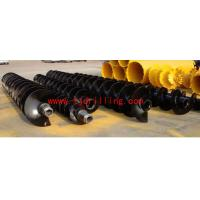 Buy cheap Hexagonal joint Continuous Flight Auger rod from wholesalers
