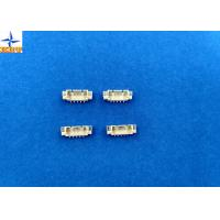 Buy cheap 1.25mm pitch SMT type wafer connector with PA6T material top entry type shrouded header from wholesalers