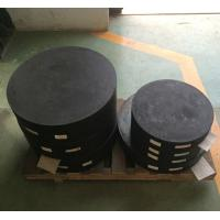 Buy cheap high quality competitive Plain and laminated elastomeric rubber bridge bearings from wholesalers