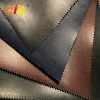 Buy cheap 140CM Width Colorful Artificial Leather for Shoes / Furniture Shinning Surface product