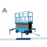 Buy cheap Towable Hydraulic Mobile Scissor Lift Table with 8m Platform Height from wholesalers